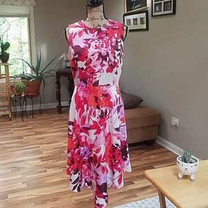 Donna Morgan floral summer dress